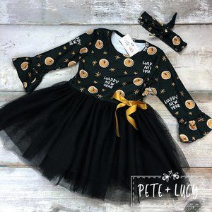 New Years Eve Tutu Dress with matching Hair Tie